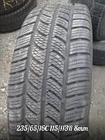 Зимняя шина Б/У 235/65/16С Continental Vanco Winter-2 протектор 8мм