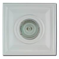 Гипсовый точечный светильник СВ 01