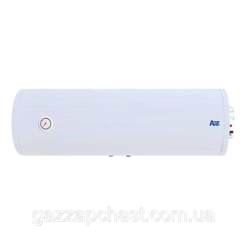 Водонагреватель Arti Slim горизонтальный с мокрым ТЭНом, 2 кВт, 80 л