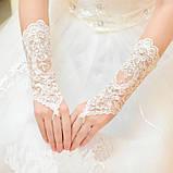 Перчатки для невесты свадебные , фото 2