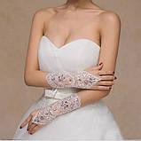 Перчатки для невесты свадебные , фото 4