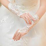 Перчатки для невесты свадебные , фото 6
