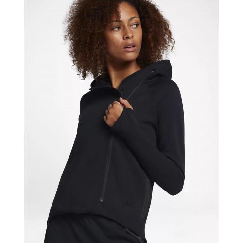 aa894af5f89f Женская Толстовка Nike Sportswear Tech Fleece Full-Zip Cape 908822-010  (Оригинал)
