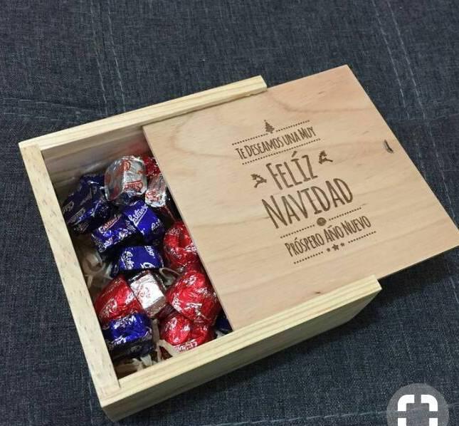 Упаковка из фанеры, подарочная коробка, лазерная резка