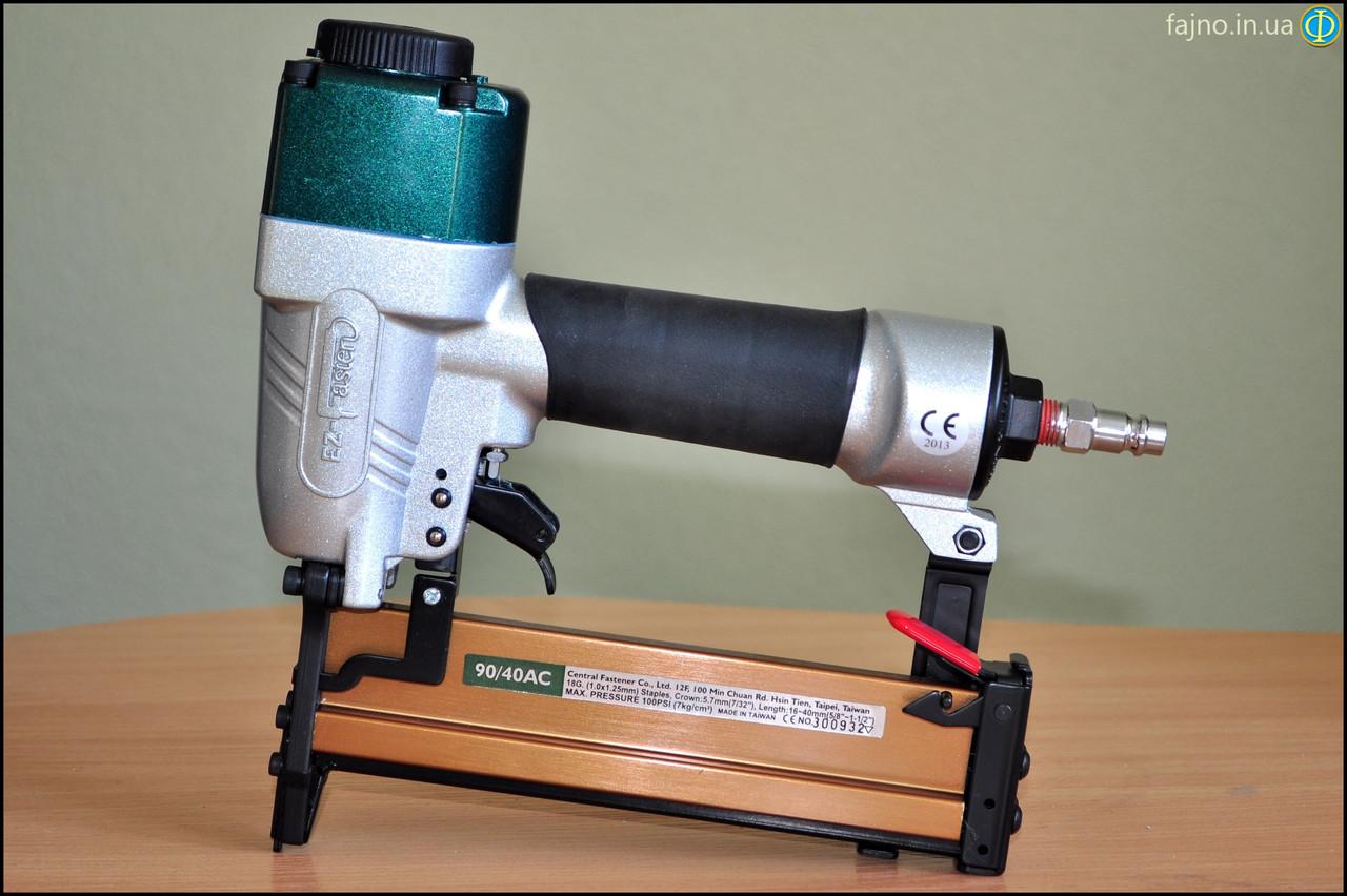 Пневмопистолет EZ-Fasten 90-40AC (скобы 16 - 40 х 5,7 мм)