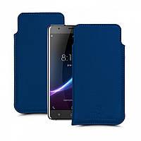 Футляр Stenk Elegance для Blackview R6 Синий
