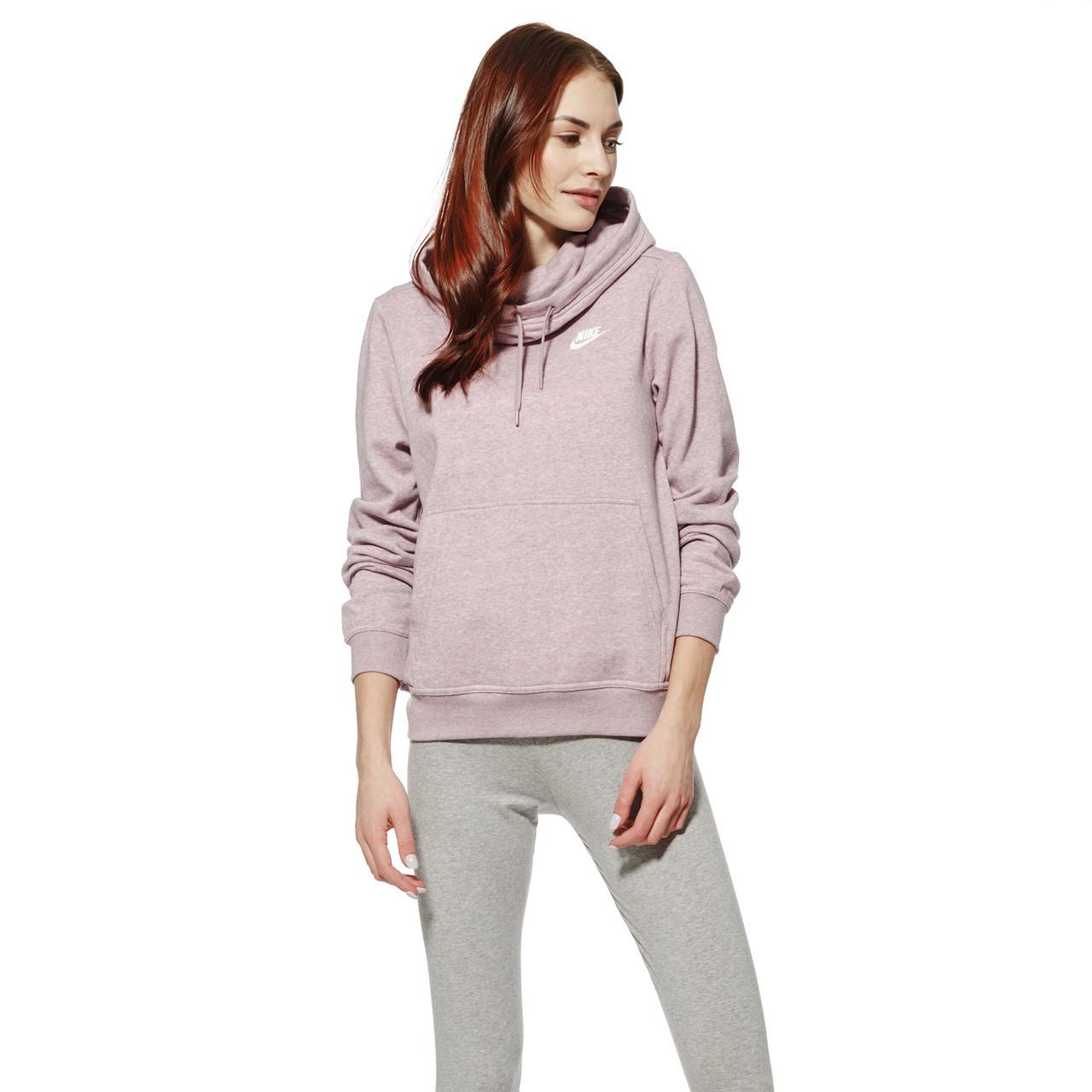 Женская Толстовка Nike Nsw Fnl Flc 853928-694 (Оригинал) - Football Mall - 24363dd3aa035