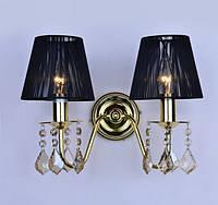 Бра на две лампы с абажуром