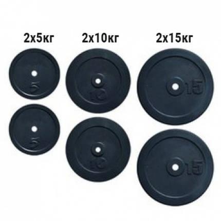 Набор дисков композитных Newt Rock 60 кг, фото 2