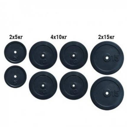 Набор дисков композитных Newt Rock 80 кг, фото 2