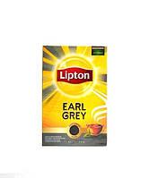 Чай черный байховый листовой Lipton Earl Grey 80g