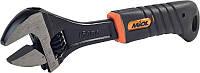 Ключ разводной обрезиненная рукоятка 0-20 мм Miol 54-040