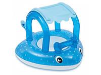 Надувной плотик-ходунки Intex 56589 Морской скат