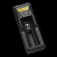 Зарядное устройство Nitecore Intellicharger i1 (1 канал + порт для зарядки электронных сигарет), фото 1