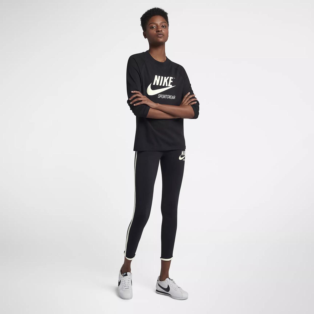 27766abf Женская Толстовка Nike Sportswear Long Sleeve Tee 883521-010 (Оригинал),  цена 989,10 грн., купить в Киеве — Prom.ua (ID#721063106)