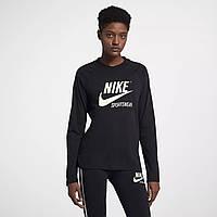0c116520 Женская Толстовка Nike Sportswear Long Sleeve Tee 883521-010 (Оригинал)
