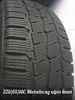 Шины зимние Б/У 225/65/16С Michelin Agilis Alpin протектор 8мм