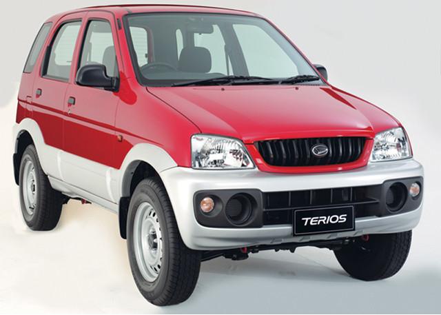 Daihatsu Terios (12,2001-12.2005)