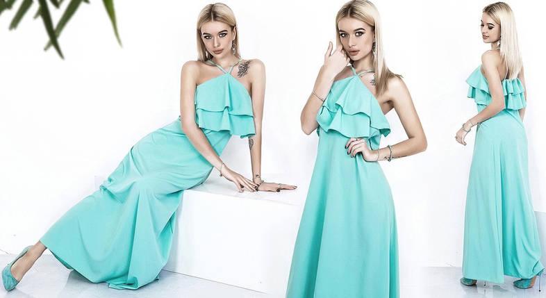 Платье в пол с открытыми плечами, фото 2