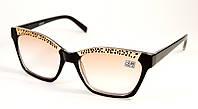 Женские тонированные очки для зрения (88049 тон ч)