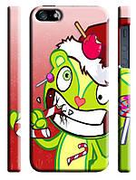 Чехол для iPhone 4/4s/5/5s/5с happy tree friends candy kills новогодние