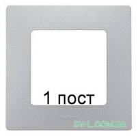 Рамка 1-ая Etika (алюминий) 672551