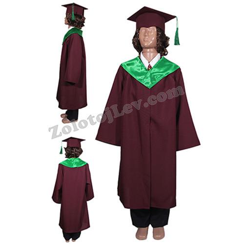 Дитяча академічна мантія зростання 122