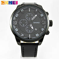 Годинник Skmei 1309 Chronograph 47mm Black Edition Quartz (Original 100%)., фото 1