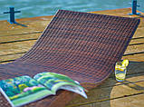 Лежак из техноротанга Волна Davida, фото 2