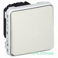 Переключатель одноклавишный Plexo IP55 (цвет белый) 069611