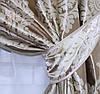 """Комплект готовых штор  блэкаут """"Корона"""" двусторонний. Цвет золотистый 154ш (А), фото 3"""