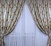 """Комплект готовых штор  блэкаут """"Корона"""" двусторонний. Цвет золотистый 154ш (А), фото 4"""