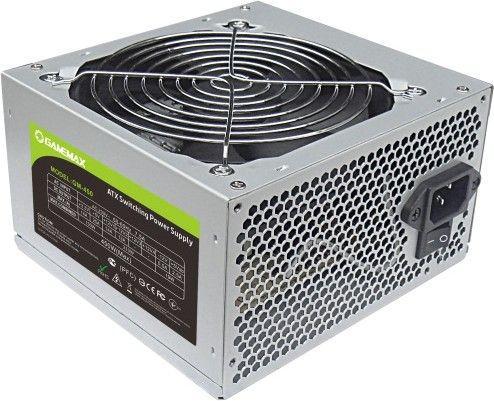 Блок питания 450W GameMax GM-450 12sm fan ATX