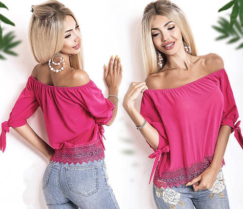 Блузка с открытыми плечами, фото 2