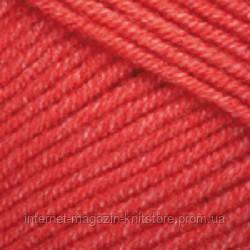 Пряжа YarnArt Jeans Красный