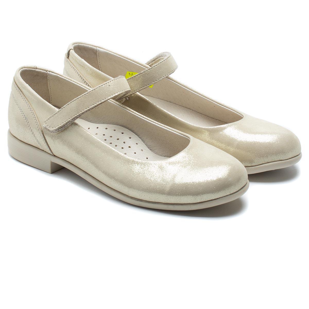 Кожаные туфли - лодочки FS Сollection для девочки, размер 32