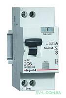 Дифференциальный автомат двухполюсный 6А 30mA (RX3) 419396