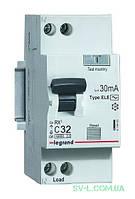Дифференциальный автомат двухполюсный 32А 30mA (RX3) 419402