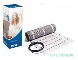 Нагревательный мат одножильный DEVIheat™ 375Вт 2,5м² DSVF-150 140F0332