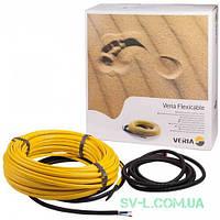 Нагревательный кабель двужильный Veria Flexicable 197Вт 10м (от 1 до 2м²) 189B2000