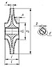 размеры рабочих колес к насосам Д