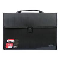 Портфель Axent В4 на 3 отделения черный  1602-01-A