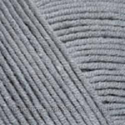 Пряжа YarnArt Jeans Серый