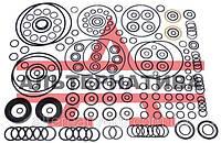Кольцо резиновое 054-058-25 ГОСТ 9833-73