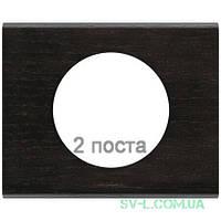 Рамка Сeliane венге двухместная 069202
