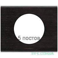 Рамка Сeliane венге пятиместная 069210