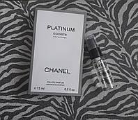Туалетная вода для мужчин Chanel Platinum Egoiste - 15 мл