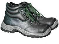Ботинки кожаные утеплённые ЗИМА BRG