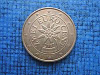 Монета 2 евроцента Австрия 2007