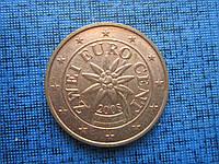 Монета 2 евроцента Австрия 2008